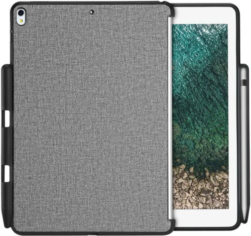 Case for IPad Pro 10.5 New IPad Air(3rd Gen) 2019 Back Cover Built-in Pencil Clr