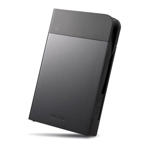NEW Buffalo External HDD 2TB USB 3.0 USB 2.0 HD-PZN2.0U3-B With Tracking