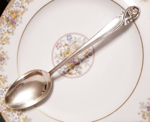 International Spring Glory Sterling Silver Serving Spoon Tablespoon