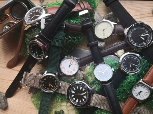 Military Watch - See Offer - Vintage with Character - 1910s-1980s by EaglemossWristwatches - 31387