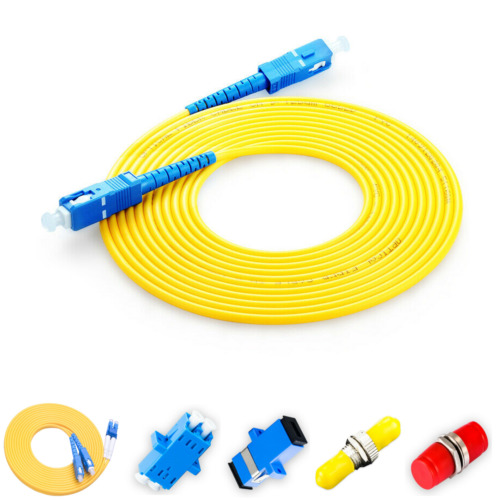 Network Fiber Optic Single-Mode Simplex Patch Cable Cord Optical Fiber Cables
