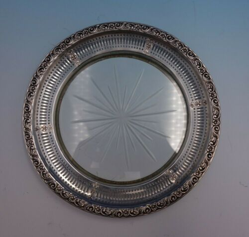 Candlelight by Towle Sterling Silver Lemon Plate w/ Cut Crystal Unmarked (#4759)