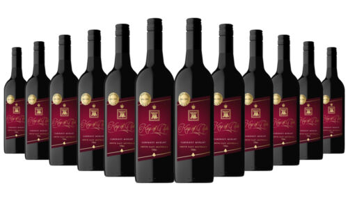King of clubs Cabernet Merlot 2019 Red Wine 12x750ml RRP$240 Free Shipping