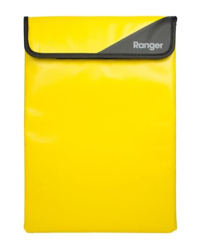 Cygnett 10 Inch Yellow Waterproof Protective Tablet Sleeve Banded Edges