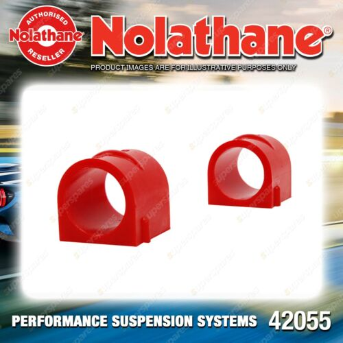 42053G Nolathane Front Sway Bar Mount Bushing FOR HOLDEN COMMODORE VY