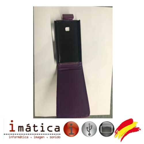 Cover With Cover Vertical For Mobile LG L3 Purple