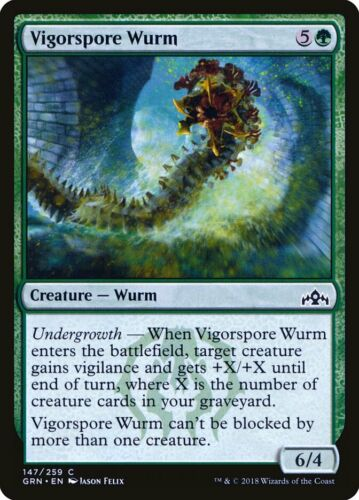Spined Wurm FOIL 10th Edition NM Green Common MAGIC GATHERING CARD ABUGames