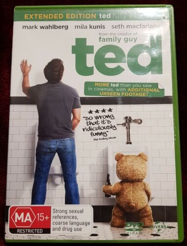 Ted DVD Region 2,4