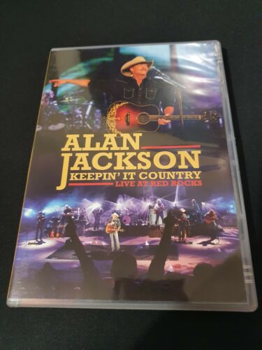 Alan Jackson Keepin' It Country Live at Red Rocks DVD All Regions NTSC 5.1 VGC