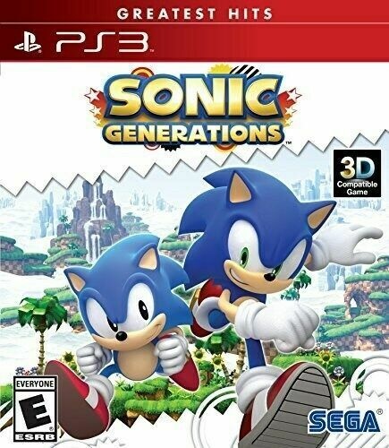 Sonic Generations PS3 Playstation 3 Brand New Sealed