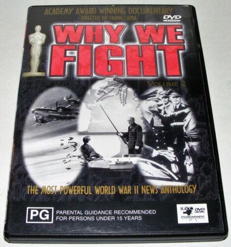WHY WE FIGHT : Volume 2 ---- (Dvd)