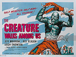 CREATURE WALKS AMONGST US - Anaglyph 3D DVD & Glasses - Free Post in Oz.