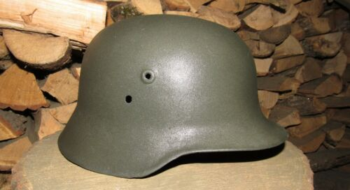 Original-Authentic WW2 WWII Relic Hungarian helmet Wehrmacht Big  Size  68  #1Personal, Field Gear - 36049