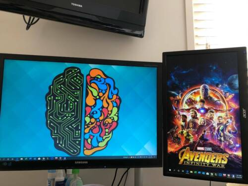 Monitors SAMSUNG S24A450 and Acer E1900HQ