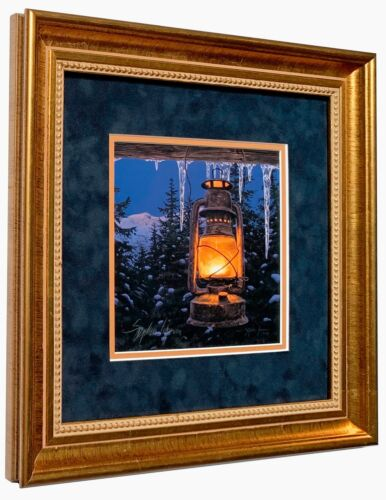 Stephen Lyman Lantern Light Signed Numbered Limited Edition w/coa Matted Framed