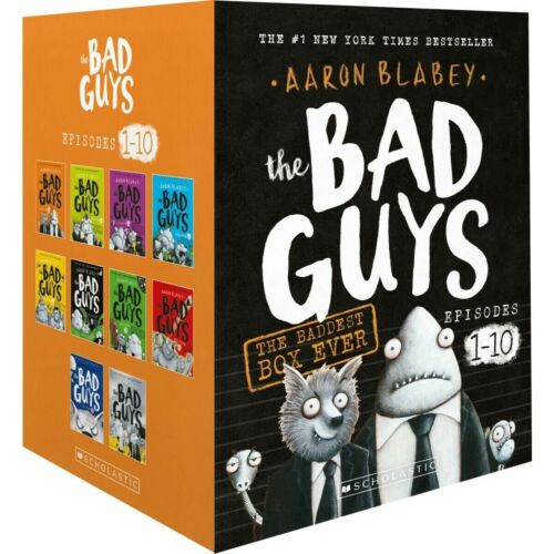 The Bad Guys The Baddest Box Ever 10 Book BoxSet by Aaron Blabey New