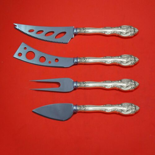 La Scala by Gorham Sterling Silver Deluxe Charcuterie Set 4pc Custom Made
