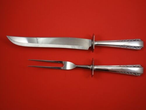 American Colonial by Watson Sterling Silver Roast Carving Set 2-Piece HH WS