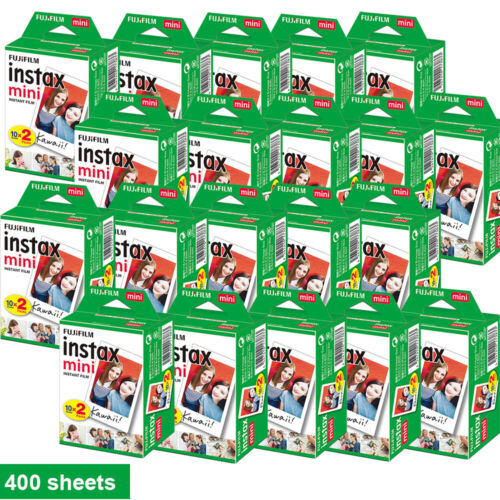 Fujifilm Instax White Film Instant for Fujifilm Instax Mini 7s/8/25/90/9 AU <br/> ☀️ Over 1200 Sold ☀️AU Stock ☀️400 Sheets $392.99 ONLY