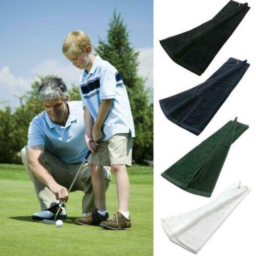 Outdoor Sports Golf Towel Washcloth Soft Cotton Blend Quick Dry Cleaning V9d5
