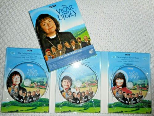 The Vicar of Dibley - the divine collection. (Registered Post)