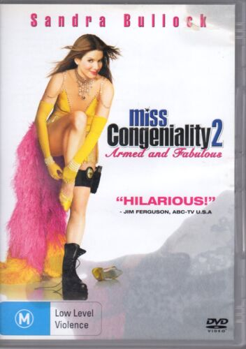 Miss Congeniality 02 - Armed And Fabulous (DVD, 2005)  #RC2
