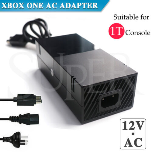 AC 1T Adapter Charger Cable Mains Power Supply Brick for Microsoft XBOX ONE