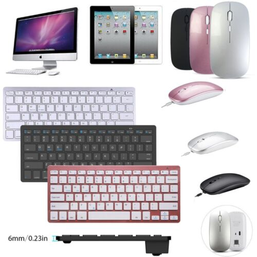"""Wireless Bluetooth Keyboard+Mouse Set For iPad 5th/6th/7th 10.2 Air Pro 11 12.9"""""""