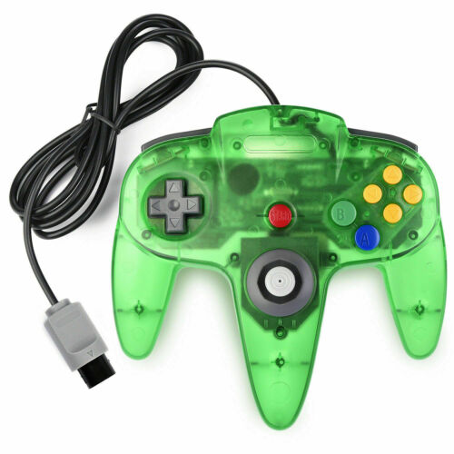 Wired 64 Classic Gamepad Joystick for Nintendo 64 Video Game Console Joypad