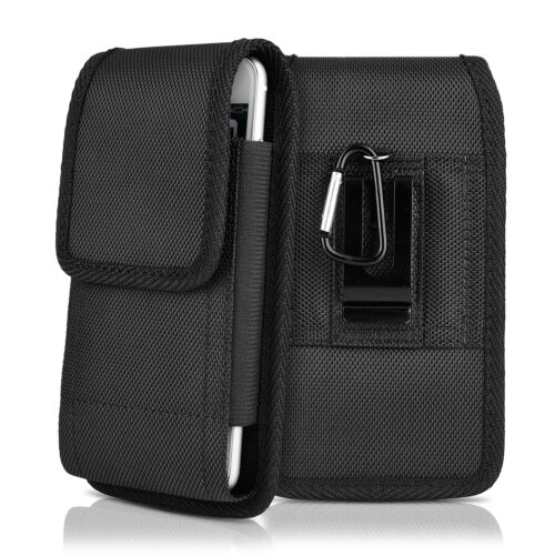 Vertical Holster Belt Clip Pouch Phone Case Universal Flip Holder for Cell Phone