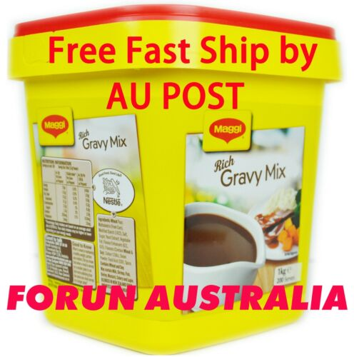 1kg Maggi Rich Gravy Mix Classic Best Before JUL 2021- Free FAST Ship BY AU POST