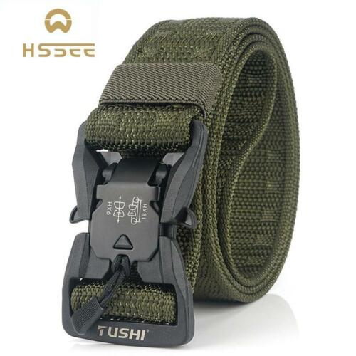 HSSEE Official Genuine Tactical Belt Hard PC Quick Release Magnetic Buckle MilitHolsters, Belts & Pouches - 73963