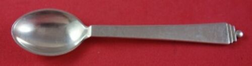 Pyramid by Georg Jensen Sterling Silver Demitasse Spoon with GI Mark 4 3/4""