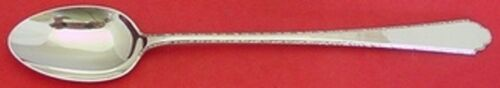 """William and Mary by Lunt Sterling Silver Iced Tea Spoon 7 5/8"""" Silverware"""