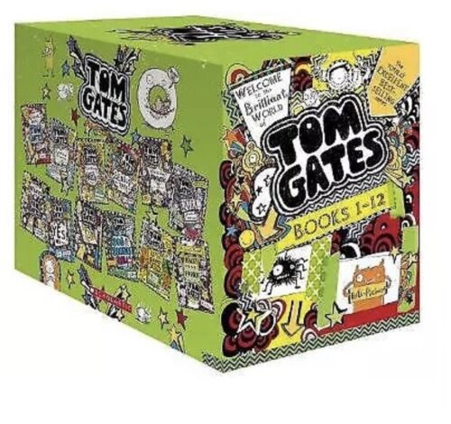 Welcome to the Brilliant World of Tom Gates 12 Books Collection