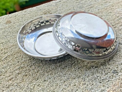 Sterling Silver Pin Dishes - American Silver - R. Wallace & Sons Mfg. Co