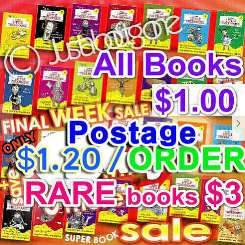 SALE 20% OFF COLES LITTLE TREEHOUSE BOOKS RARES COLLECTABLES COMPLETE a FULL SET