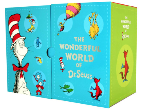 NEW The Wonderful World of Dr Seuss 20 Book Slipcase Gift Set Kids Collection!