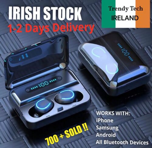 Wireless Bluetooth Headphones Earphones Earbuds For iPhone Samsung Android - NEW <br/> 500+ SOLD ✅ 100% POSITIVE FEEDBACK 🔝 IRISH SELLER ☘️