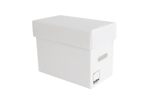 Comic Book Short Boxes - Separate Lid - Acid Free & Fully Recyclable