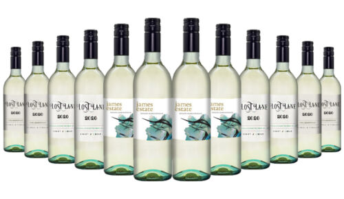 James Estate Special White Mixed Wines 12x750ml RRP$240 Free Shipping/Returns