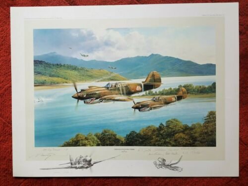 """ROBERT TAYLOR -""""CHENNAULTS FLYING TIGERS""""      RARE """"ReMarque""""  1 of 3"""