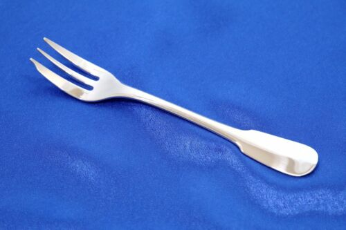 """ONE Christofle CLUNY Silver-plated Cake Pastry Fork 6 1/4"""" FRANCE"""