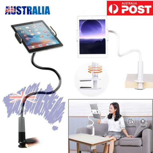 AU STOCK Rotating Tablet Stand Holder Lazy Bed Desk Mount For Pad iPhone Samsung