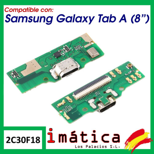 "Board Charge For Samsung Galaxy Tab A 8 "" 2019 Microphone Connector Module"