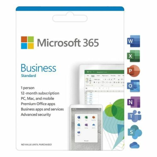 Microsoft 365 Business Standard 1 Year Subscription [Digital Download] up to ...
