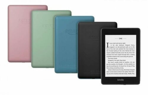 Amazon Kindle Paperwhite (2018) 8Gb WiFi eReader Waterproof 10th NEW COLOURS