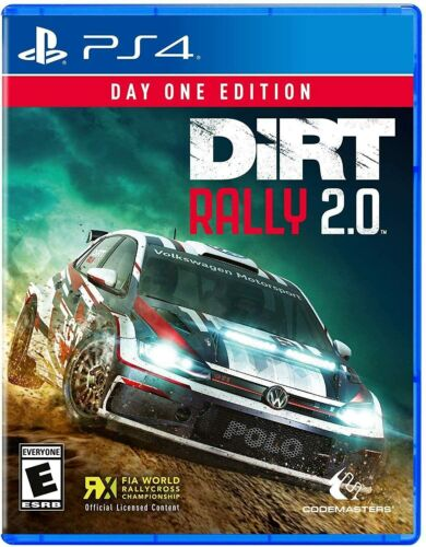 Dirt Rally 2 Day One Edition PS4 Playstation 4 Brand New Sealed