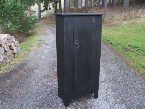 Primitive Handcrafted Country Cupboard