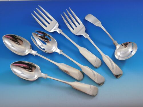 Old English Tipt by Gorham Sterling Silver Essential Serving Set Large 6-piece
